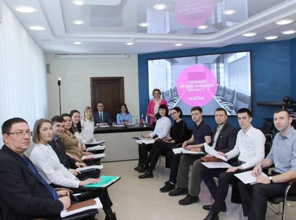 Учебное заседание квалификационной комиссии